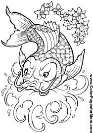 asian coloring 16 pages color asian