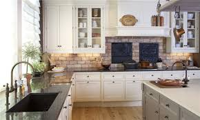 backsplash brick kitchen backsplash best exposed brick kitchen