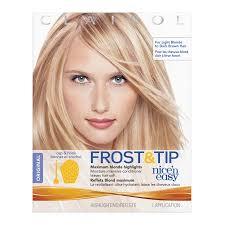 frosting hair clairol nice n easy frost tip original hair highlighting kit