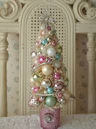 bling bling ornaments ornament tree pastel