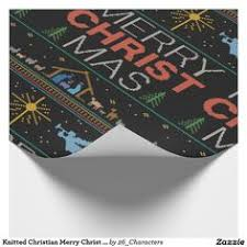 christian wrapping paper christmas sweater black christian wrapping paper