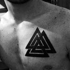 50 valknut designs for norse mythology ink ideas
