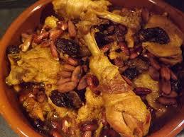 cuisine choumicha poulet tajine de poulet aux pruneaux et abricots choumicha cuisine