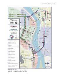 Portland Light Rail Map by Appendix F Portland Streetcar Portland Or Guide To Value