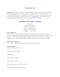 Carpenter Job Description For Resume by Carpentry Skills Resume Free Resume Example And Writing Download