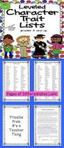 Character Trait Worksheet Best 25 Teaching Character Traits Ideas Only On Pinterest