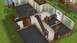 How To Make A House Floor Plan Two Story Unfurnished House Sims Freeplay Youtube