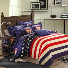 Red White Comforter Sets Navy Blue White And Red American Flag The Star And The Stripes