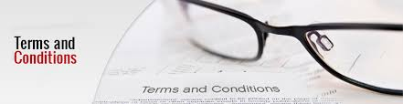 Terms Conditions Terms