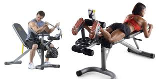gold u0027s gym xrs 20 olympic multi workout bench for 97 shipped reg