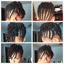 Chunky Flat Twist Hairstyles by Flat Twist Updo With A Two Strand Twist Bang Twist Pinterest