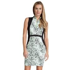 print dress willow snake print dress pga tour superstore