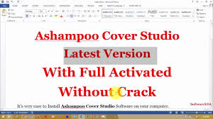 ashampoo cover studio full activated youtube