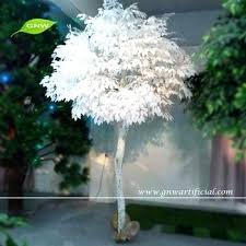 wholesale wooden artificial white tree with banyan birch branches