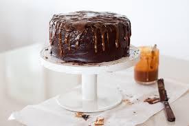 chocolate u0026 salted caramel birthday cake the brick kitchen