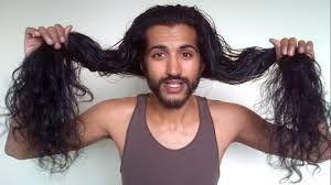 long hair over 45 58 month indian hair update men s natural long hair journey youtube