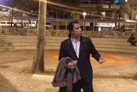 Meme John Travolta - hora do café cena de john travolta em pulp fiction vira meme