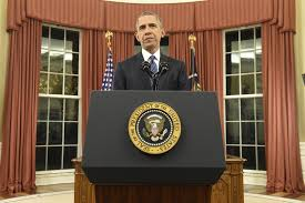 Desk In Oval Office by The Full Text Of Obama U0027s Address To The Nation La Times