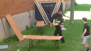 backyard wrestling tables match outdoor furniture design and ideas