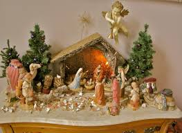 decor awesome chirstmas themes nativity sets with balsam hill
