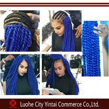 Braid Hair Extensions by Ombre Color Synthetic Cornrows Hair Extensions Havana Mambo Twist