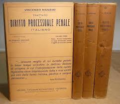 libreria giuridica torino manzini trattato di dir processuale penale italiano