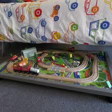 melissa doug activity table train set table with drawers toys r us imaginarium classic train