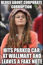 Meme Blogs - college liberal meme imgflip