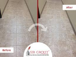 maintenance see how these floors improved after a grout