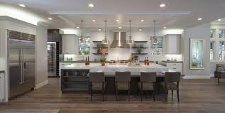 large kitchen ideas fabulous can lights and large island for big kitchen ideas
