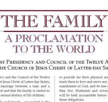 family proclamation special episode the backdrop and context of the family a