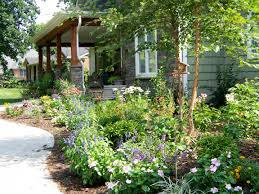 Cottage Garden Design Ideas Cottage Garden Ideas With Wide Cottage Covered By Different Plants