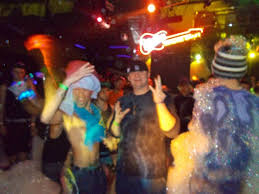 new years party akron ohio foam party at club vortex in akron