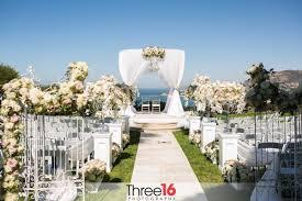 orange county wedding venues wedding venues in southern california the ritz carlton laguna