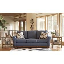 ashley furniture janley sofa ashley furniture janley denim living room sofa