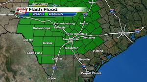 Uvalde Texas Map After Heavy Rains Tuesday Flash Flood Watch Remain In Effect