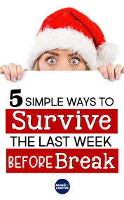 help with christmas easy activities to help survive the last week before