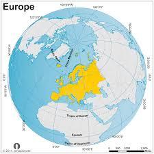 map of europe europe globe map globe map of europe