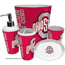 Ohio State Curtains Curtains Osu Shower Curtain Fresh Ohio State Bathroom Accessories
