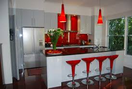 red kitchen backsplash ideas furniture white tile backsplash and dark brown wooden kitchen