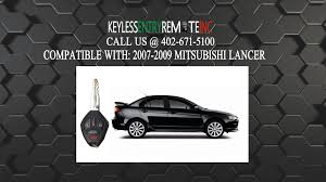 mitsubishi cars 2009 how to replace mitsubishi lancer key fob battery 2007 2008 2009