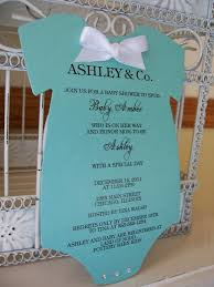 Tiffany And Co Home Decor by Homemade Baby Shower Invitations Tiffany Onesie Baby Shower