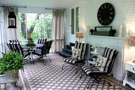 sheer curtains for screened porch