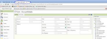 form designer saleslogix web form designer customer fx