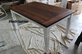 How To Build Wood End Tables by Diy Farmhouse Table Free Plans Rogue Engineer
