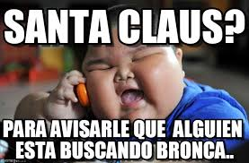 Santa Claus Meme - santa claus asian fat kid meme on memegen