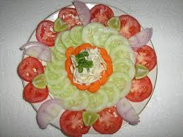 home decor cool salad decoration at home excellent home design