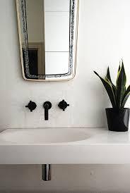 Black Bathroom Fixtures Bathroom And Kitchen Trend Black Fixtures Balletti Design