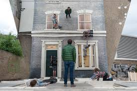 interior illusions home optical illusion house artist leandro erlich creates amazing