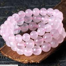 pink quartz bracelet images Rose quartz bracelet natural stone love fertility charm crystal jpg